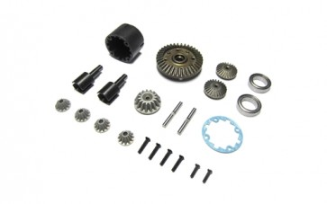 GT14B METAL GEAR DIFF SET
