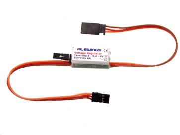 Regolatore di tensione con prolunga servo a 1 canale 6A 90030111