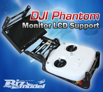 Set con supporto radio White Look Phantom  e monitor