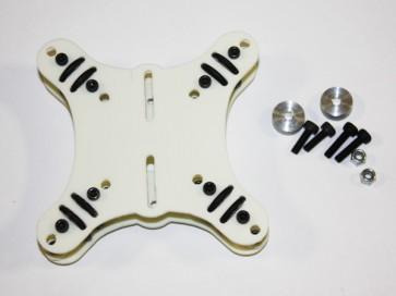 Supporto ammortizzato per gimbal originale Phantom Bianco