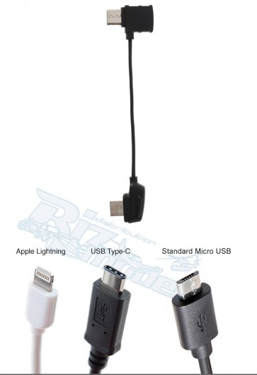 Mavic - RC Cable (Standard Micro USB connector)