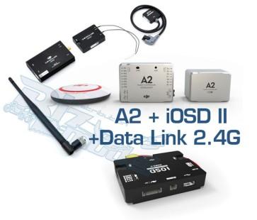A2+iOSD II+Data Link 2.4G Combo