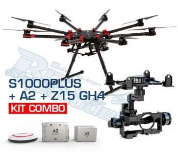 Combo DJI S1000 Plus + A2 + Z15 GH4 + DJI Lightbridge