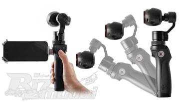 DJI Osmo camera stabilizzata da usare senza drone