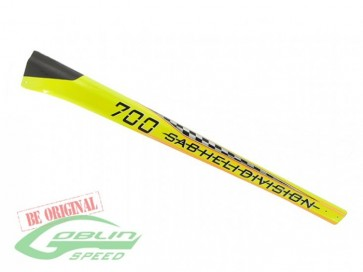 TAIL BOOM G700 SPEED YELLOW H0366-S