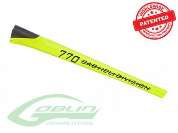 TAIL BOOM G770 CO YELLOW H0380-S