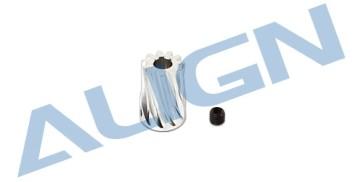 H45160A Motor Slant Thread Pinion Gear 11T
