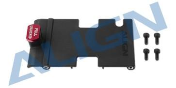 H47B011XX 470L Brushless ESC Mounting Plate Set