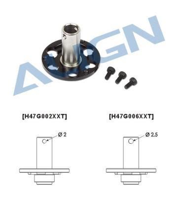 H47G006XX 470L M2.5 Drive Gear Mount