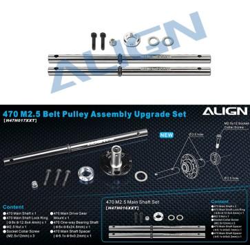 H47H016XX 470L M2.5 Main Shaft Set
