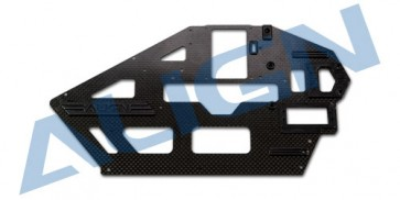 H50B002XX 500L Carbon Fiber Main Frame(L)/1.6mm