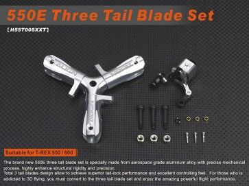 H55T005XX 550E Three Tail Blade Set
