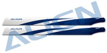 HD420G 425 Carbon Fiber Blades-Blue