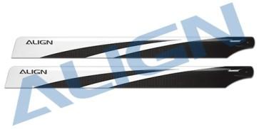 HD470A 470 3K Carbon Fiber Blades