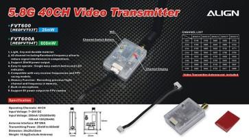 HEDFVT03 5.8G Video Transmitter(25mW/40CH)