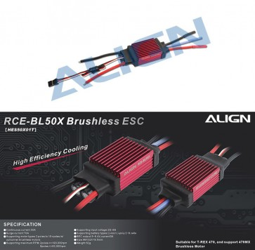 HES50X01 RCE-BL50X Brushless ESC
