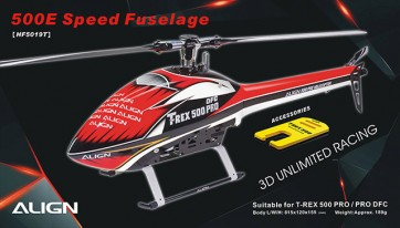 HF5019 500E Speed Fuselage - Red & White