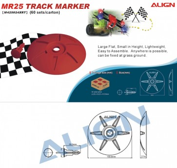 MR25 Track Marker - Red