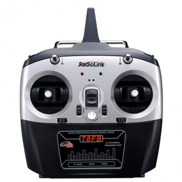 RadioLink T8FB Remote Control (Mode 2)+ R8FM 8CH Mini Receiver RADT8FB