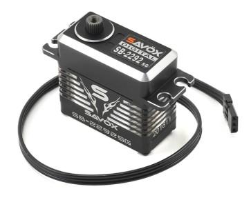 SB-2290SG Black Edition Monster Torque Brushless Steel Gear SAXSB-2290SG