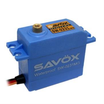 Savox SW-0231MG Waterproof High Torque STD Metal Gear SAXSW-0231MG