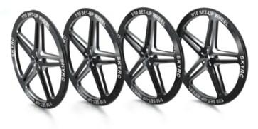 SK-600069-06 1/10 Set-Up Wheel (Black)