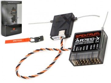 AR7610 7-Channel DSMX Hi Speed Receiver SPMAR7610 SPMAR7610