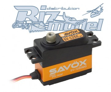 SAVOX SV-1250MG Digital Servo High Voltage 7,4V SAXSV-1250MG