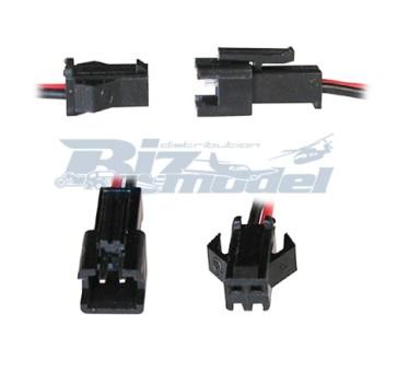 HX High Quaility RHos SM Connector 2pin (una coppia) BIZ-257003