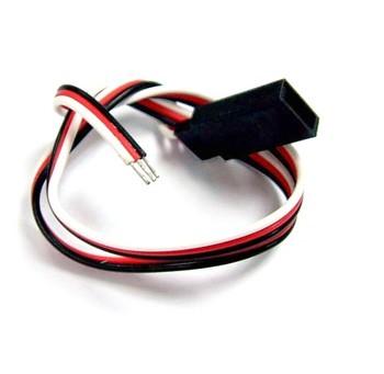 22AWG Futaba Straight Servo Wire L=250mm BIZ-BCA062