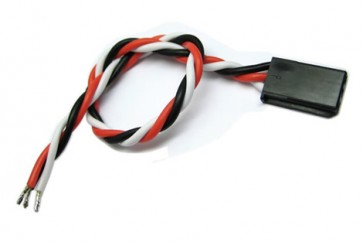 22AWG Futaba Twisted Servo Wire L=250mm BIZ-BCA063