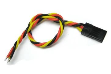 22AWG JR Twisted Servo Wire L=250mm BIZ-BCA064