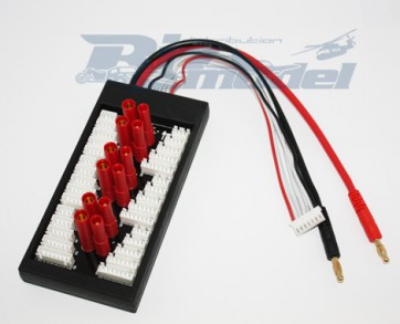 Parallel Charge Board for JST-XH & HXT 4mm Bullet BIZ-BCA094