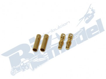 4mm gold plated connector CW102