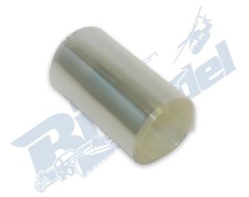 1 metro termoretraibile trasparente larghezza 68mm ristretto 30mm CW116