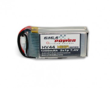 GP1300PL2S 7.4V 1300mAh 2Cell 44C - 70C
