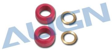 H55055 Damper Rubber/Red 60°
