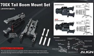 700X Tail Boom Mount Set
