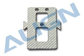 HS1123-75 CF Battery Mounting Plate  SILVER HS1123-75