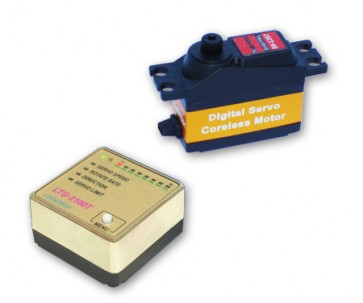 Logictech LTG-2100 + SAVOX SH-1357 COMBOGYRO5