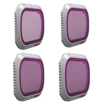 PGYTECH Filter for MAVIC 2 PRO - ND/PL SET 4 pezzi (Professional) ND8/PL ND16/PL ND32/PL ND64/PL