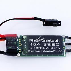 Phoenixtech Elite Series 45amp ESC PH45SBEC