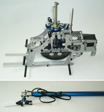 Conversione elettrica per Hirobo Shuttle QUK-HSKIT02