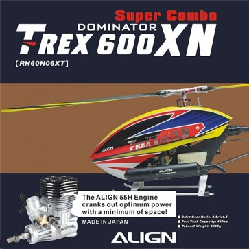 T-REX 600XN Super Combo