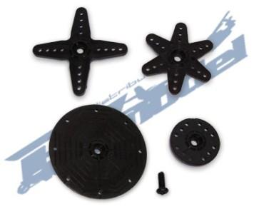 Squadrette Savox per servo standard/mini vite per ingranaggi in plastica SAXH400
