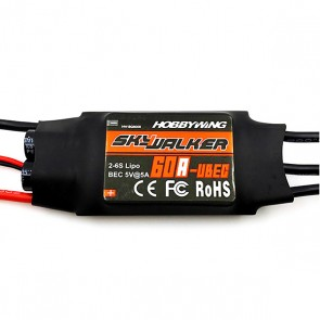 30216100 HobbyWing Skywalker 60A-UBEC Speed Controller