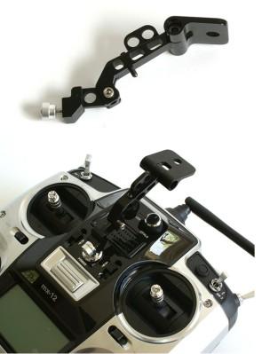 FPV Monitor Mounting Bracket for DJI Silver Graupner e Spektrum