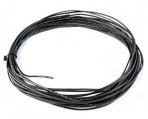 Cavo flex wire silicone, black, 0,25 mm CW55223