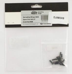DJI Screw Pack M3x8 10 pezzi