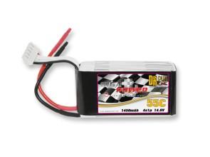 GP1450-4S GigaPower 1450mAh 4S1P 14.8V 55C